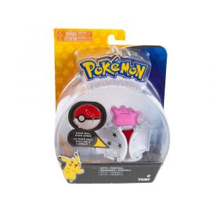 Tomy Pokémon Pokéball Throw 'n' Pop Avec Figurine Metamorphe