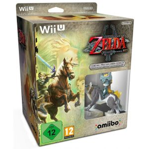 Image de The Legend of Zelda - Twilight Princess HD + Amiibo Link Loup + CD Audio [Wii U]