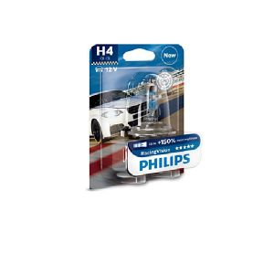 Philips 1 ampoule H4 12V 60/55W Racing Vision +150 (12342RVB1)