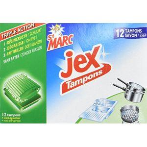 Jex Tampon laine d'acier bg 12