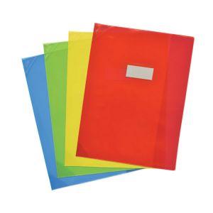 Elba Protège-cahier A4 PVC transparent