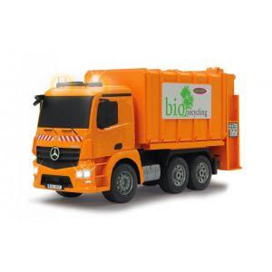 Jamara Camion benne à ordure Bio-recycling Mercedes radiocommandé