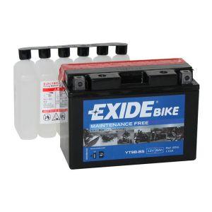 Exide Batterie moto YT9B-BS 12v 8ah 115A