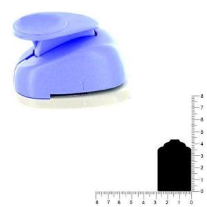 Artémio Perforatrice géante étiquette - 5 cm
