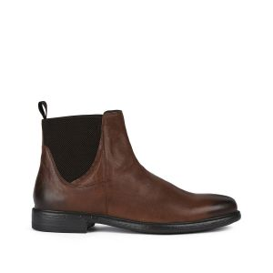 Geox Boots cuir Terence Marron - Taille 40;41;42;43;44;45;46