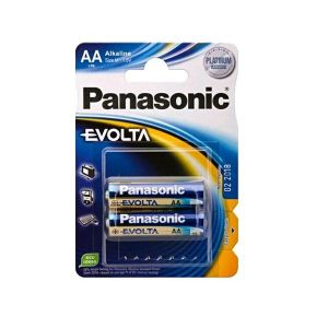 Panasonic 2 piles AAA LR03 Evolta