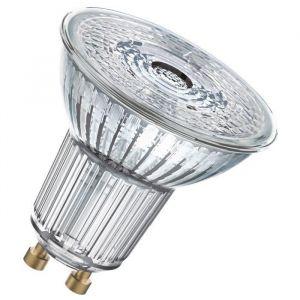 Osram Ampoule Spot LED PAR16 GU10 6,9 W équivalent a 80 W blanc froid - Culot : GU10 - Puissance : 6,90 W - Equivalence : 80 W - Flux lumineux : 575 Lm.