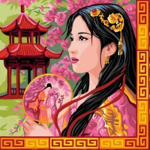 Oz international Peinture par numéros - Déco : Asie