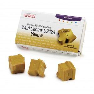 Xerox 108R00662 - 3 Bâtonnets d'encre solide jaune