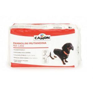 Camon 12 couche-culottes pour chien L 45 à 55 cm