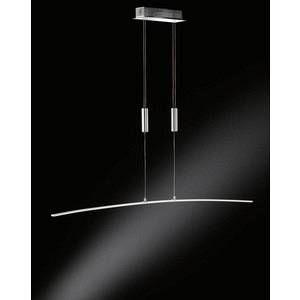 Wofi Lampe suspendue FREYA LED Chrome, 1 lumière