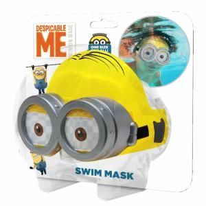 Masque de plongée Minions pour enfant (taille unique)