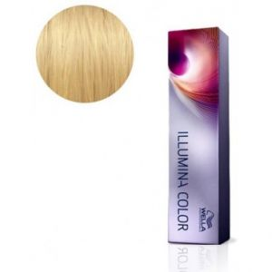 Wella Illumina Color 10.38  Blond très très clair doré perle - Coloration permanente