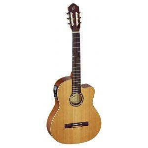 Ortega RCE131 Guitare de concert avec housse Système pickup Corps Acajou Table cèdre