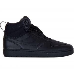 Nike Chaussure Court Borough Mid 2 pour Jeune enfant - Noir - Taille 32 - Unisex