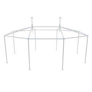 VidaXL 40279 - Structure de tente chapiteau pavillon jardin et les accessoires