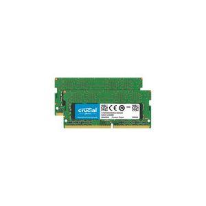 Crucial SO-DIMM DDR4 32 Go (2 x 16 Go) 2666 MHz CL19 Dual Rank X8