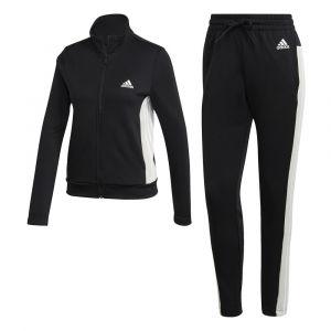 Adidas W TS Teamsports Survêtement Femme, Black/Black, FR : M