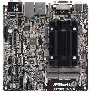 Asrock J3160DC-ITX - Carte mère Mini ITX avec Pentium J3160