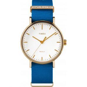 Timex TW2R49300D7 - Montre pour homme avec bracelet en tissu