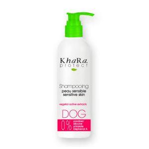 Khara Protect - Shampooing peaux sensibles pour chien (250 ml)