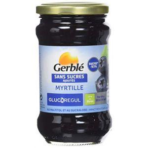 Gerblé Confiture de myrtille sans sucres ajoutés - 320 g