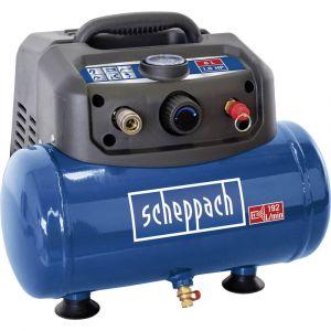 Scheppach Compresseur 6L sans huile 8 bar avec accessoires de gonflage - HC06