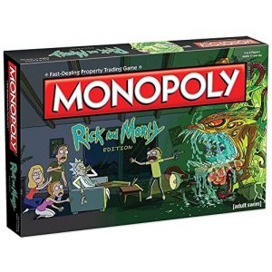 Winning Moves Monopoly Rick & Morty
