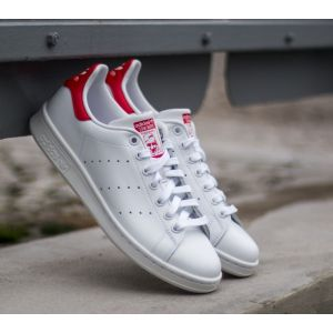 Adidas Stan Smith chaussures blanc rouge 43 1/3 EU