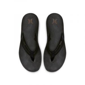 Nike Sandale en cuir Hurley Lunar pour Homme - Noir - Couleur Noir - Taille 40