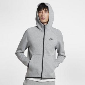 Nike Sweatà capuche entièrement zippé Sportswear Tech Fleece pour Homme - Gris - Taille S - Male