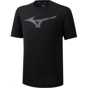 Mizuno Core RB Graphic T-Shirt Homme, black M T-shirts course à pied