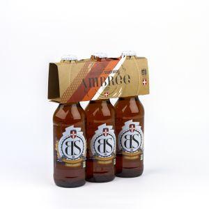Brasseurs savoyards Bière BS Ambrée Bio 3x33cl