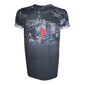 T-Shirt 'Playstation' - Logo Classic - Taille M