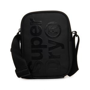 Superdry Pochette SIDE BAG Noir - Taille Unique