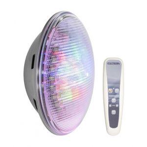 Astral Pool Kit n°1 - 1 x lampe led lumiplus par56 rgb 1100 lm + télécommande