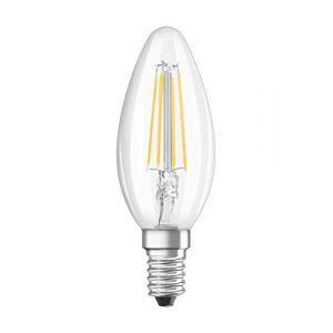 Osram LEDVANCE LED EEC A++ (A++ - E) E14 en forme de bougie 4 W = 40 W blanc neutre (Ø x L) 35 mm x 35 mm 1 pc(s)