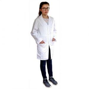 PBV Blouse de laboratoire Enfant Taille 12/14 ans