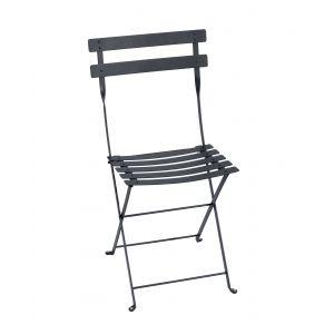 Fermob Chaise pliante d'extérieur couleur carbone