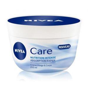 Nivea Care Nutrition Intense - Crème visage & corps absorption rapide