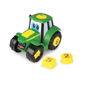 Tomy Véhicule Johnny le tracteur Formes et chiffres