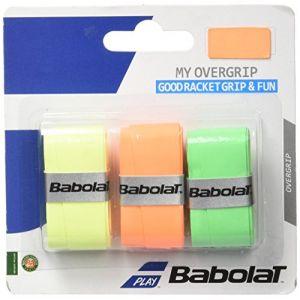 Babolat My over grip fluo - Surgrip raquette de tennis - Noir - Taille Unique