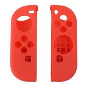 Straße Game Housse Silicone De Protection Pour Joy-Con De Nintendo Switch - Rouge
