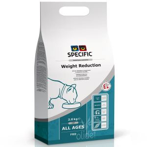 Dechra Croquettes chat FRD Weight Reduction - Sac 7,5 kg