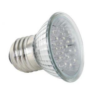 Velleman AMPOULE LED JAUNE - E27 - 240VCA - 18 LEDs - LAMPLE27Y2 -