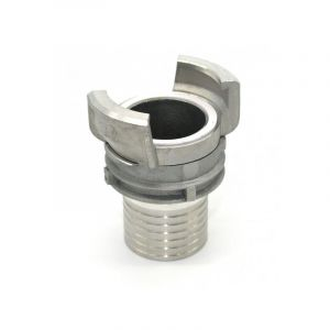 Multitanks Demi raccord symétrique Guillemin à douille annelée - aluminium - DN 40 x 40mm