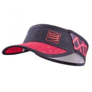 Compressport Spiderweb Ultralight - Couvre-chef - rouge/noir Bonnets & Casquettes Running