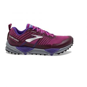 Brooks Chaussures CASCADIA 13 femme violet - Taille 39,40,40 1/2,37 1/2,38 1/2
