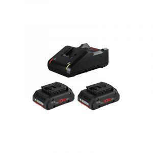 Bosch Lot 2 batteries ProCORE 18V 4.0Ah + chargeur GAL 18V-40 1600A01BA3