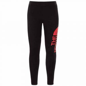 The North Face Collants Girls Cotton Blend Legging Big Logo - TNF Black - Taille M